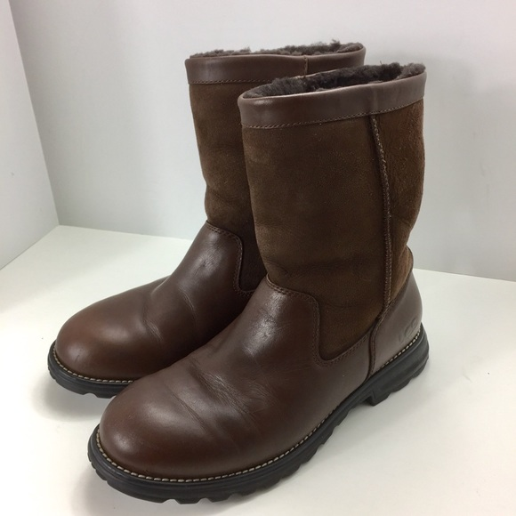 3c0307c89a2 UGG Australia 5381 Brooks Brown Boots Size 10